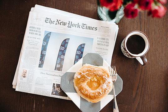 食品と新聞の軽減税率